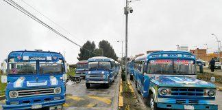 paro de transporte El Alto