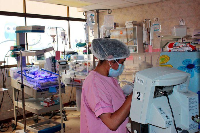 personal de salud vacunación