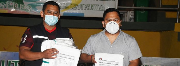 CBN dono al departamento de Pando trajes de bioseguridad hechos en Bolivia