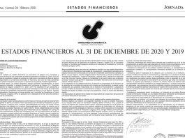 Consultores de Seguros S.A. - Estados Financieros al 31 de diciembre de 2020 y 2019