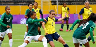 Ecuador vs Bolivia femenino