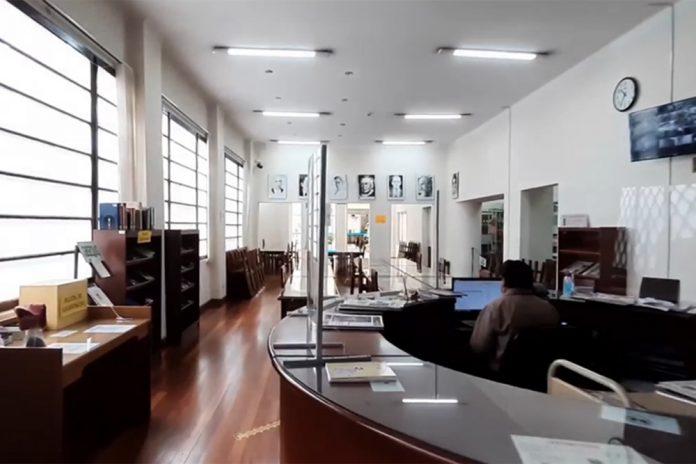 La Biblioteca Publica Gunnar Mendoza Loza de Sucre cumple 12 anos de su reinauguracion