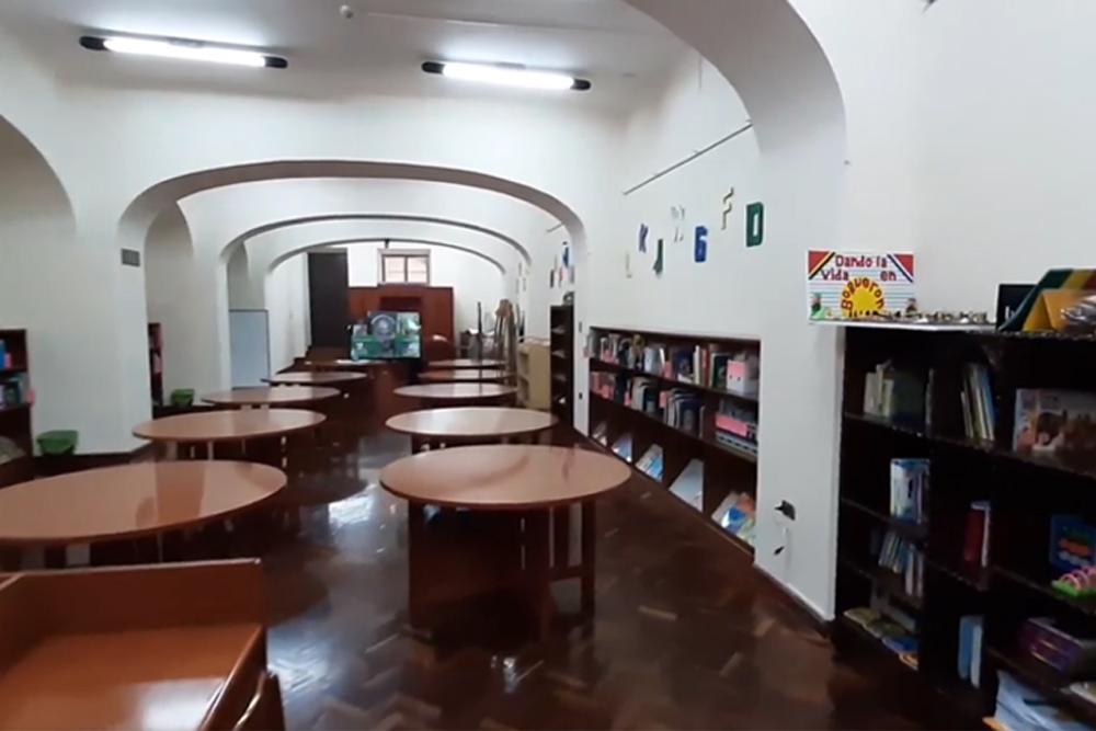 La Biblioteca Publica Gunnar Mendoza Loza de Sucre