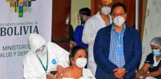 Luis Arce vacunación general anticovid