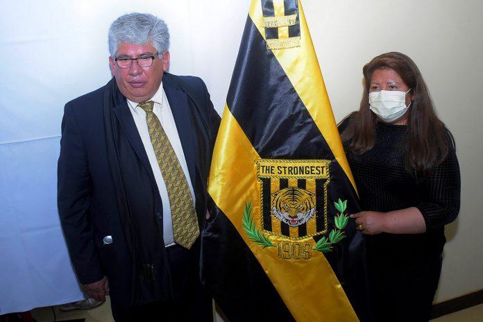 Ronald Crespo e Inés Quispe