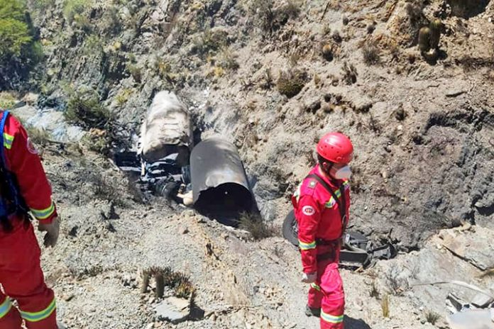 accidente Tarija