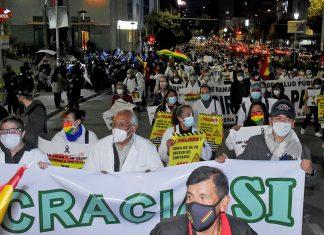 marcha médicos La Paz