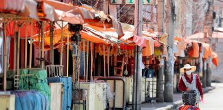 mercado cerrado Cochabamba