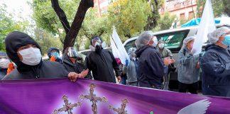 propietarios de funerarias protestan