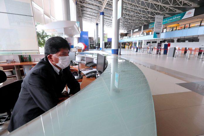 restricción de vuelos procedentes de Europa