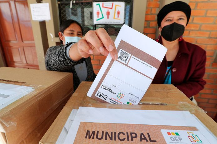 simulacro votación elecciones subnacionales