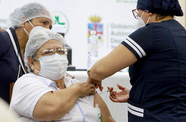 vacunación Santa Cruz
