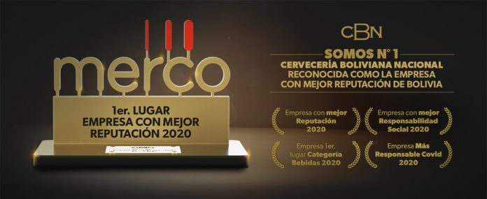 Cerveceria Boliviana Nacional se ha posicionado una vez mas en el primer lugar del prestigioso Ranking Merco