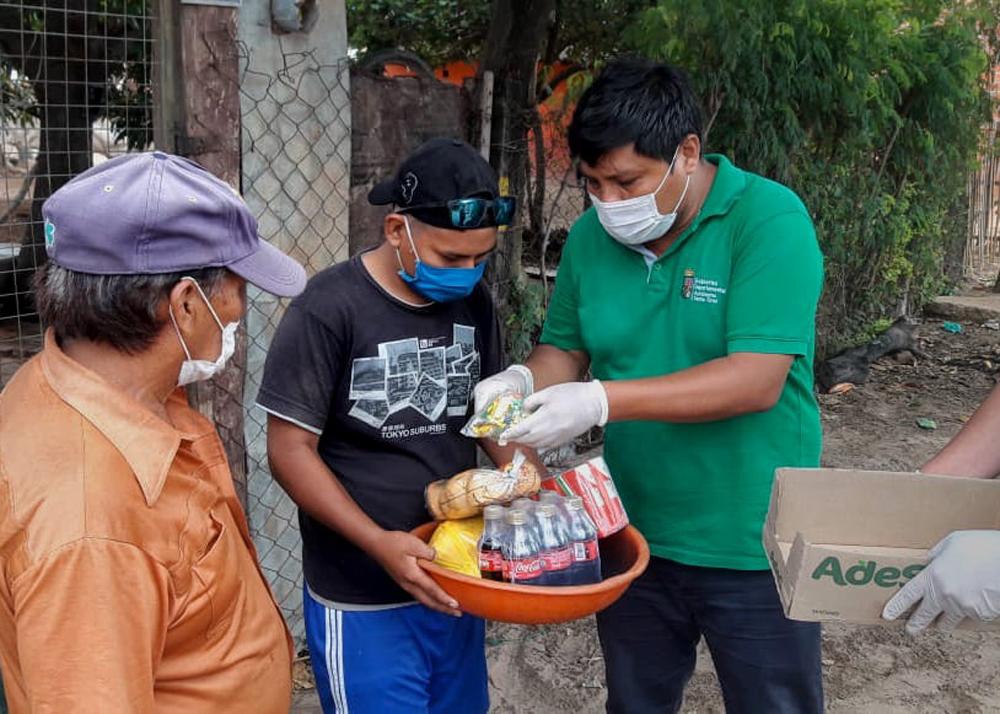Coca Cola Bolivia participo durante tres anos 2017 2019 del proyecto Cosecha Azul