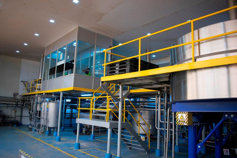 Instalaciones de la Cerveza Cordillera
