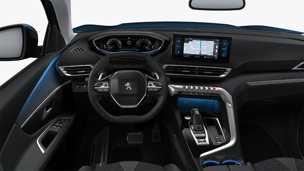 Interior del vehiculo con nuevos acabados