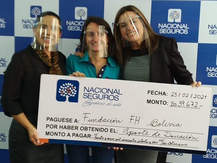 La Campana BoliviaconAgua y Nacional Seguros se unen para brindar acceso a agua segura a 800 familias