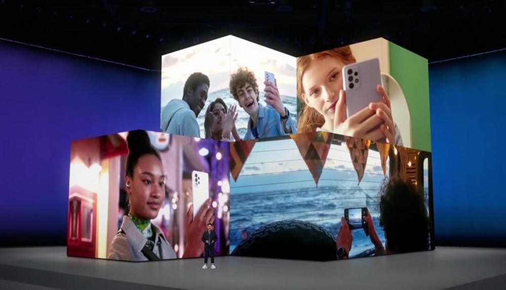 Samsung presento los renovados Galaxy A52 y A72 en su evento virtual