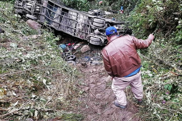 accidente Cochabamba
