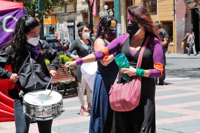artistas protestan contra violencia y abusos