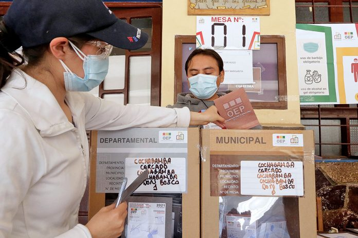 elecciones subnacionales Cochabamba