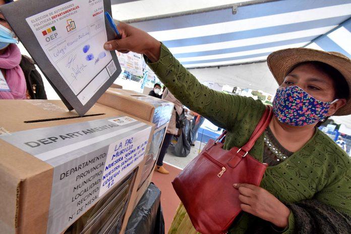 elecciones subnacionales La Paz