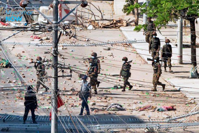 fuerzas de seguridad Birmania