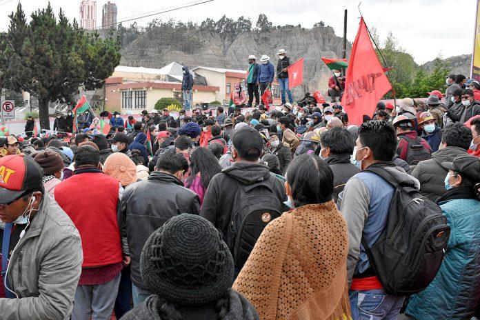 huelga de hambre Rafael Quispe y Santos Quispe