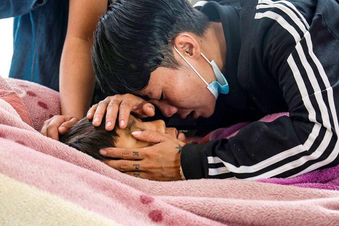 muerte niños Birmania