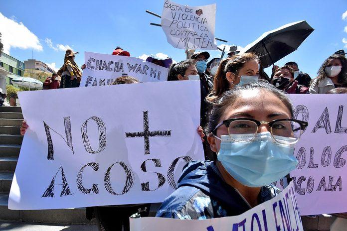 protesta Mujeres Creando