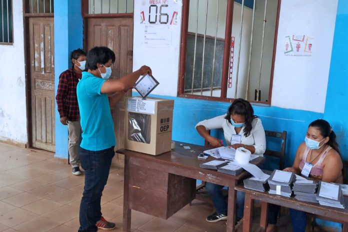votación Riberalta