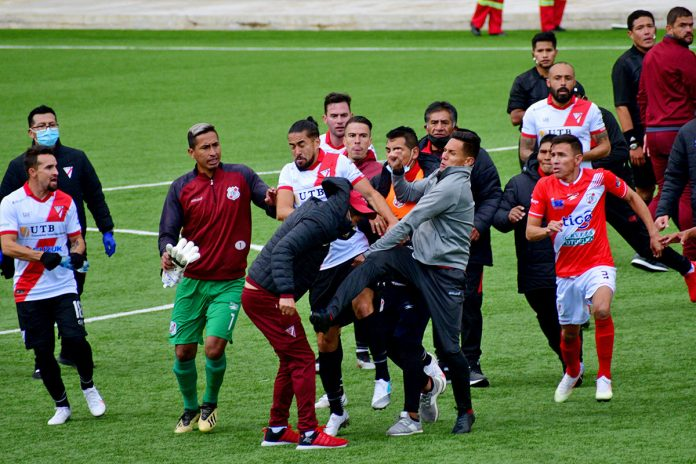Always Ready vs Nacional Potosí