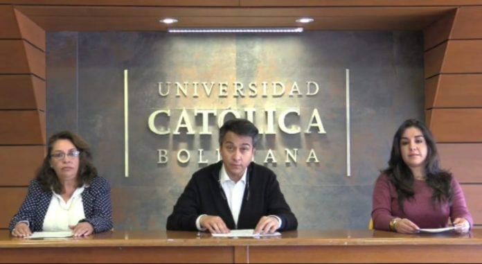 Autoridades de la U.C.B. Regional La Paz