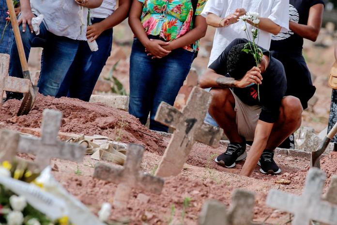 Brasil muertes covid-19