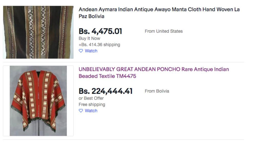Comercializan tejidos andinos bolivianos en plataformas digitales - JORNADA