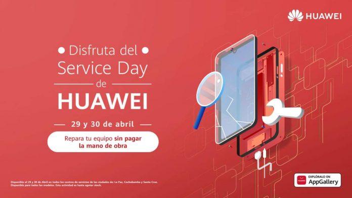 El Service Day de Huawei brinda grandes beneficios