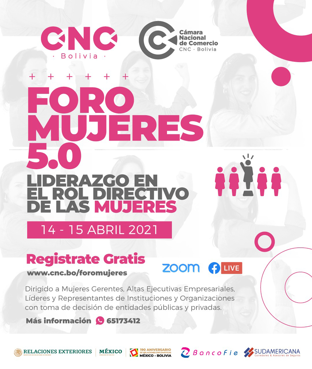 Foro Mujeres 5.0 denominado Liderazgo con el Rol Directivo de las Mujeres