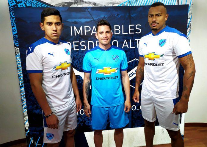 Puma presenta las nuevas camisetas de Bolivar