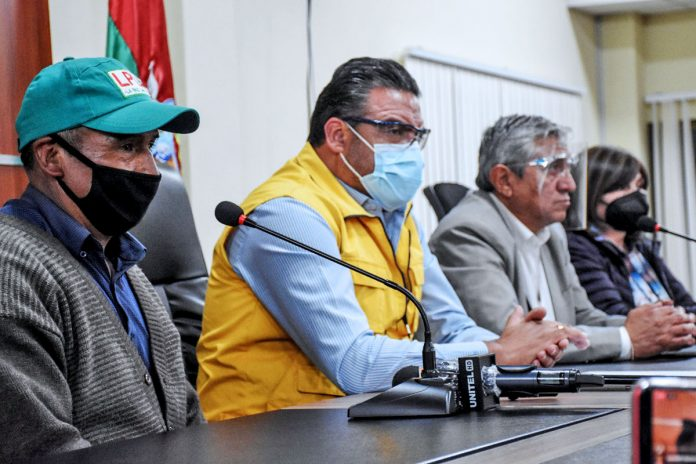 acuerdo Alcaldía y La Paz Limpia