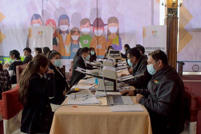 cómputo electoral La Paz