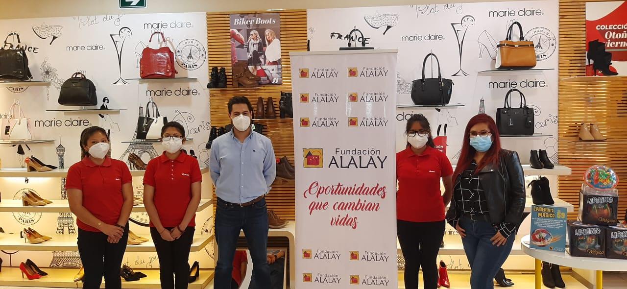 donacion de Bs. 10.160 a la Fundacion Alalay