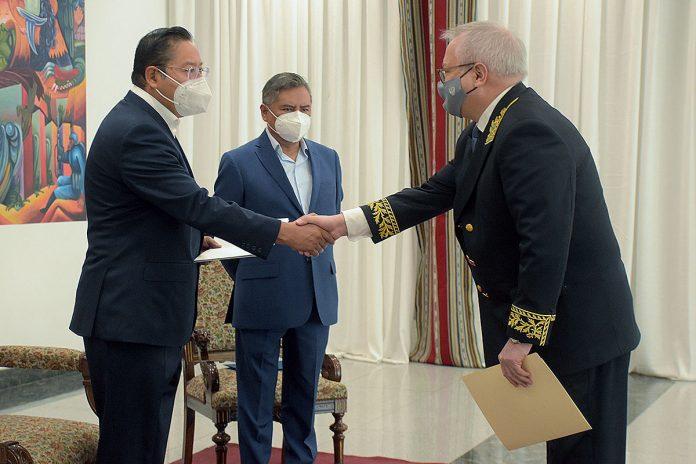 embajadores presentan cartas credenciales