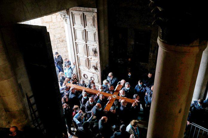procesión Viernes Santo Jerusalén