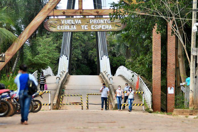 puente internacional entre Bolivia y Brasil