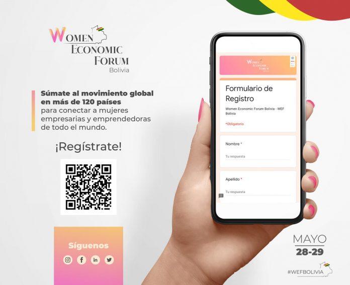 Ecofuturo impulsa el primer Women Economic Forum Bolivia 2021