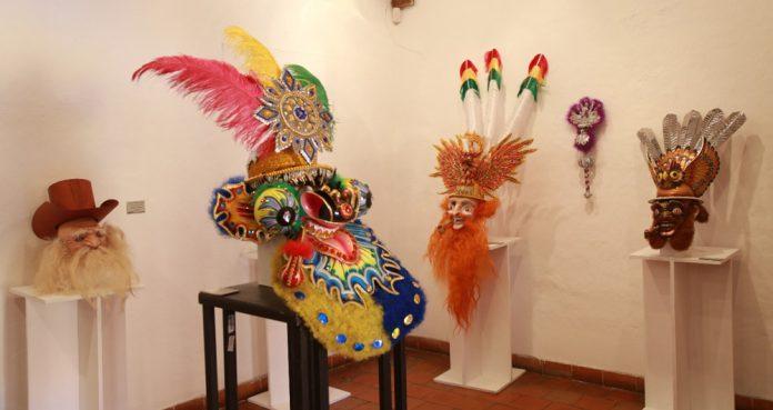 En el Museo Tambo Quirquincho se exponen las mascaras ganadoras del concurso Expresando identidades