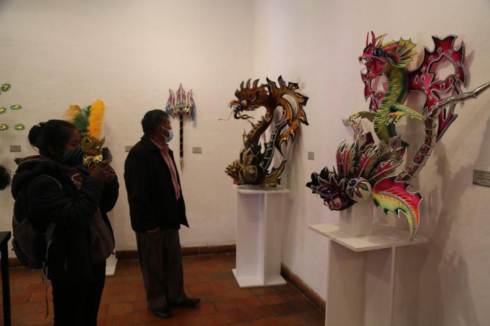 En el Museo Tambo Quirquincho se exponen las mascaras