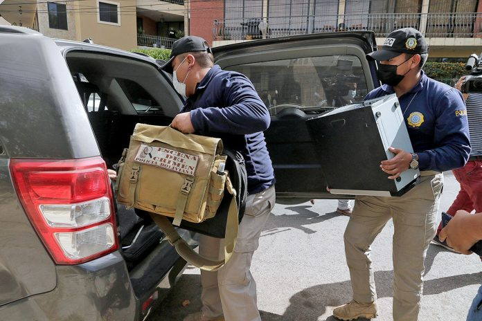 Fiscalía allana propiedades de Arturo Murillo