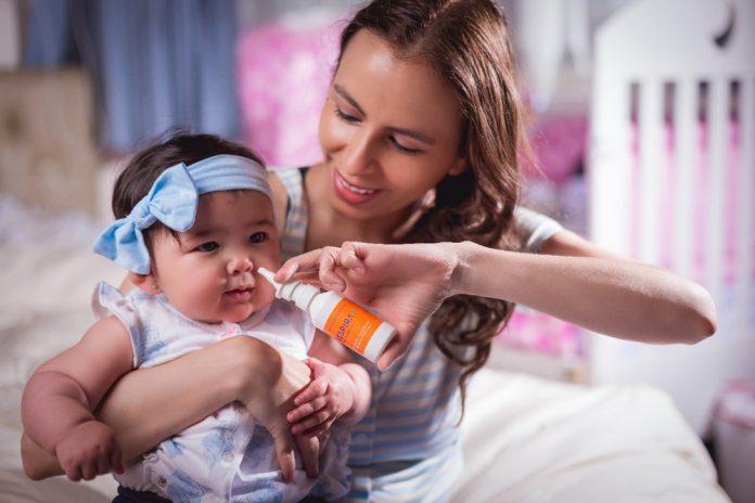 Higiene de las fosas nasales de los bebes y ninos