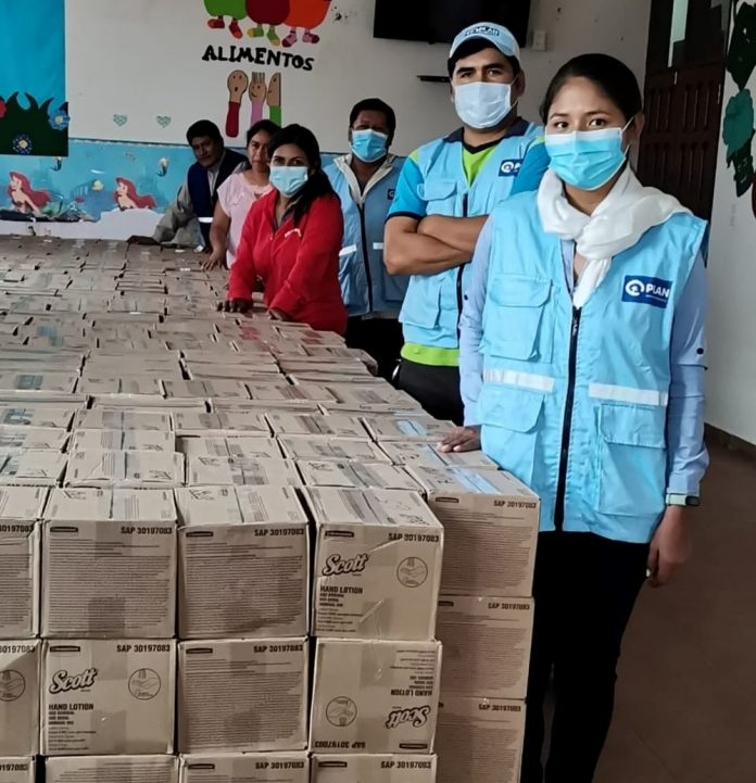 Kimberly Clark Bolivia donacion a Municipios crucenos